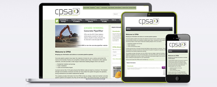 CPSA Responsive Design